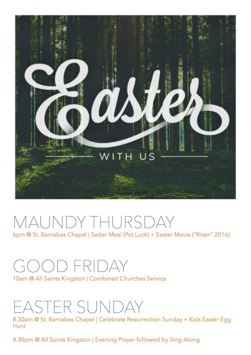 Easter at C of E